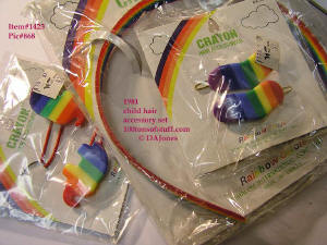 100tos1423: Girl's hair accessories CRAYON brand