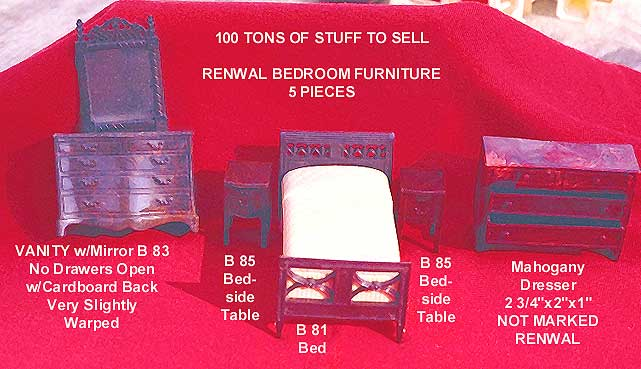5 piece Renwal Bedroom set - will sell separately