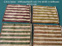 Large dollhouse sized rugs - 4