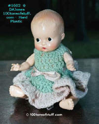 Hard Plastic doll 1950's - go to page