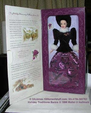 Holiday Traditions Barbie - Go to page