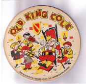 1578-78 rpm Cardboard Old King Cole children's Record