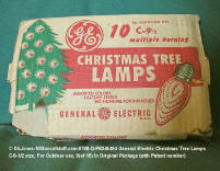 0798-Q-PB246494-XMAS-GE 10 large Original Box Outdoor bulbs
