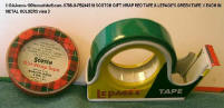 0798-U-PB246508-Scotch Metal & Lepage Metal Tape One red and 1 green