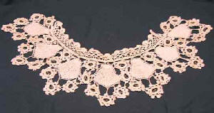 100tos0844-B-Lace Crocheted Collar