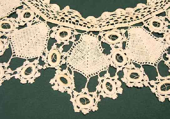 Textilesclothing 100tos0844 b lace crocheted collar clup dt1010fo